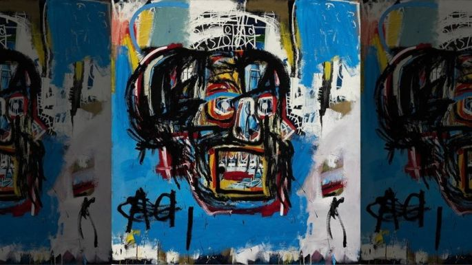 Basquiat's 1982 painting of a skull sold for over $110 million at auction